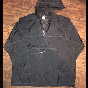 Vintage Nike 3/4 Zip Windbreaker Size Men's Large